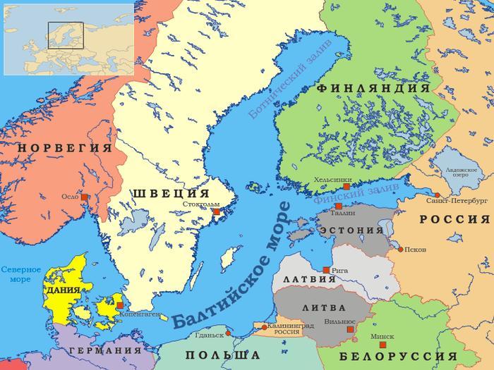 Балтийскоре море