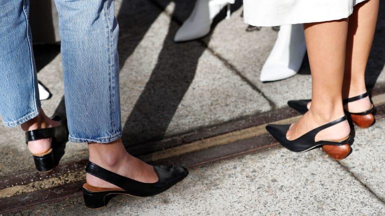 Удобный и неудобный каблук