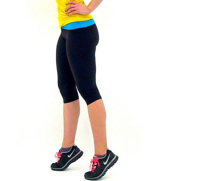 упражнения для похудения икр и ляжек