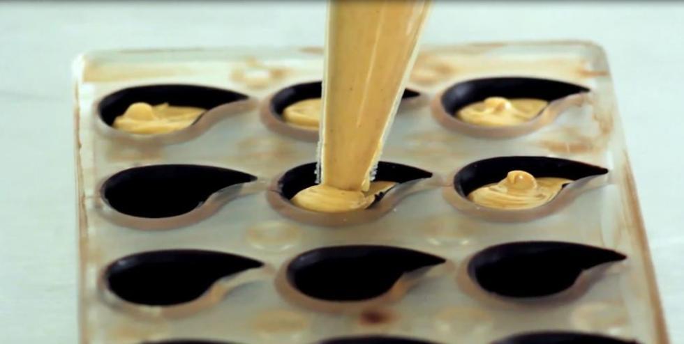 шоколадные конфеты с начинкой как сделать