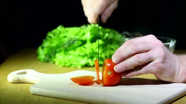 Нарезка салатов