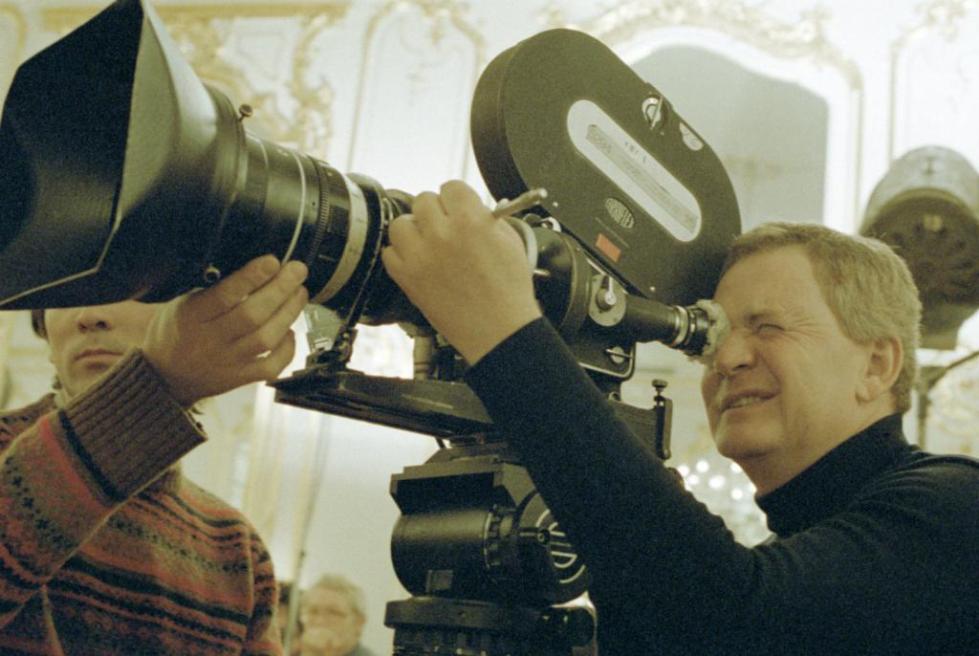 режиссер Иштван Сабо на съемках фильма