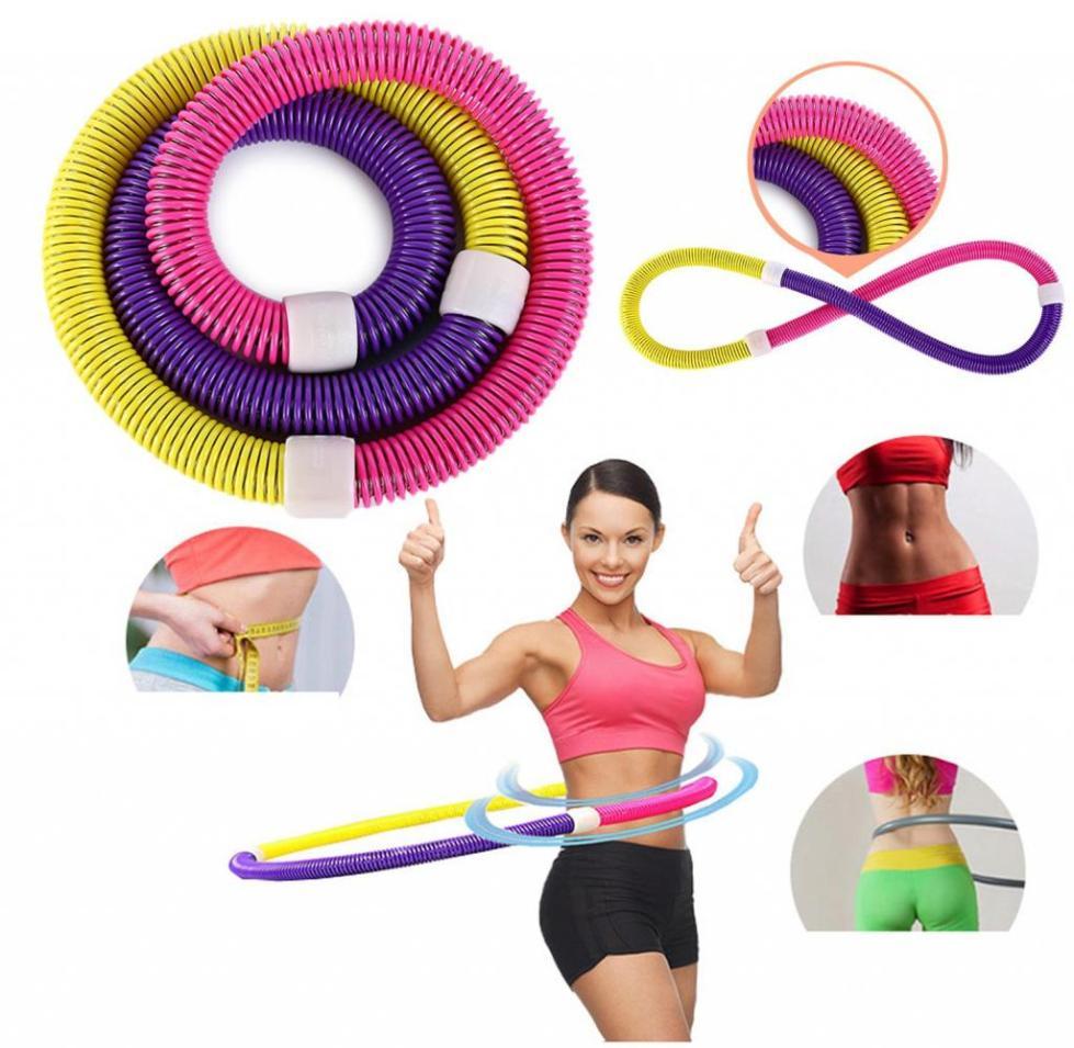 Хула-хуп для тренировки мышц живота
