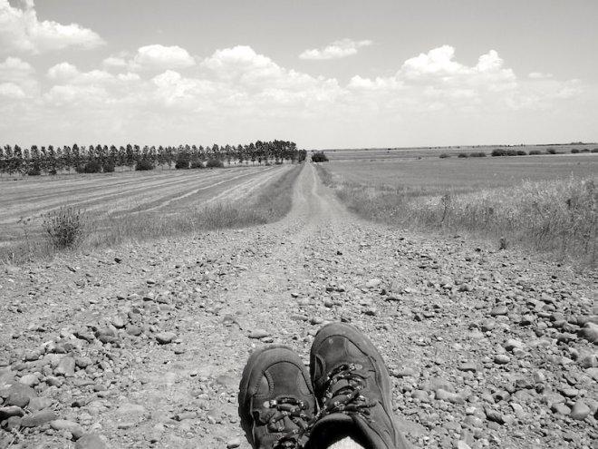 Reiseglück ist...auch mal die Füße ausruhen.