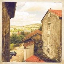 Ausblick Santiago de Compostela
