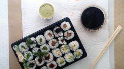 Nr.7: Billiges leckeres vegetarisches Sushi gibt es bei Steel Shark.
