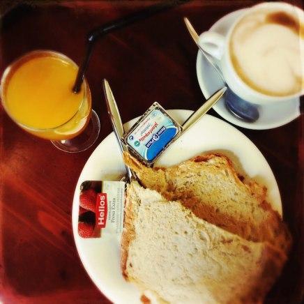 Tostadas Cafe Casino Santiago de Compostela