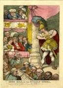 John Bull at the italian opera, de Thomas Rowlandson