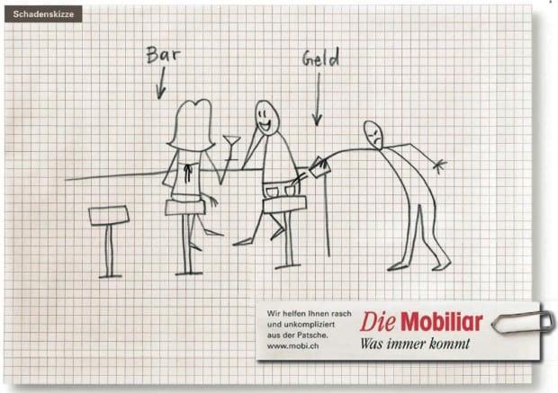 Schadenskizze der Mobiliar Versicherung (Quelle: persönlich.com)