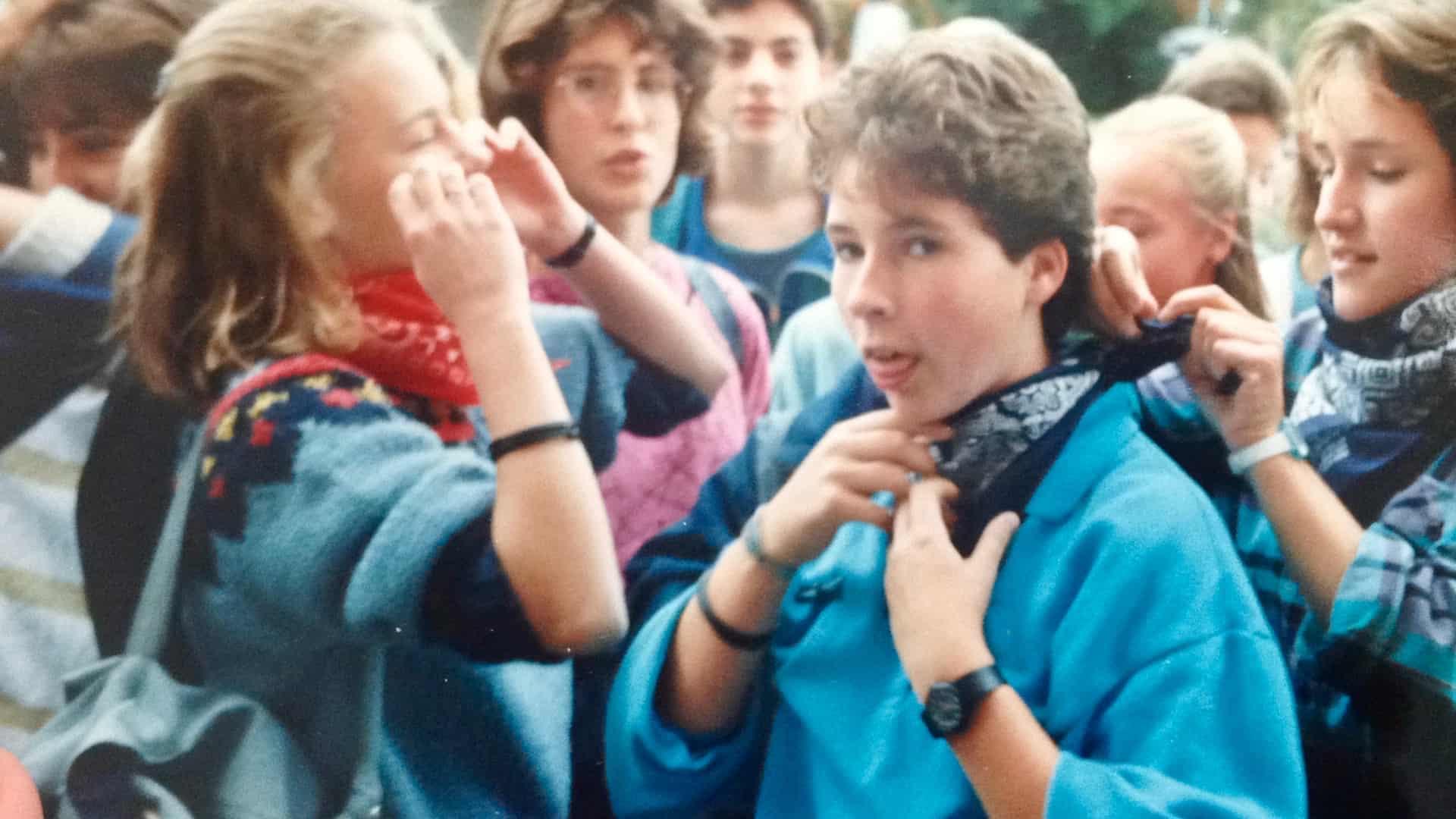 Projektwoche: Szene aus den 80ern (Archivbild)