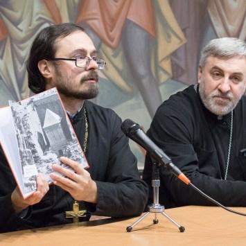 Новая книга протоиерея Владимира Хулапа представлена в Феодоровском соборе