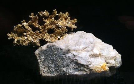Gold wie gewachsen