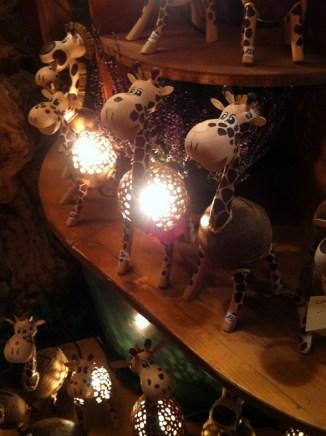 Giraffen-Lampen