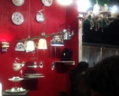 Lampen aus Geschirr