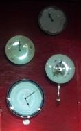 Uhren aus Tellern