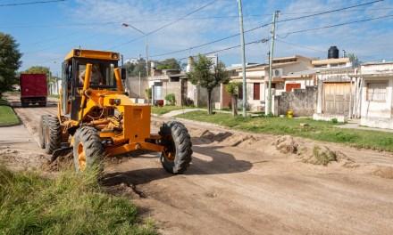 Mantenimiento de calles de tierra