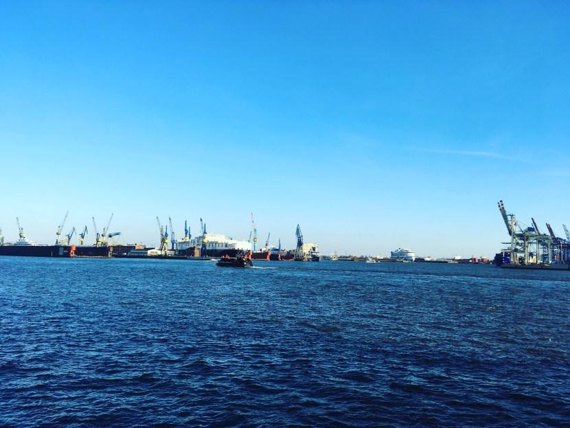 Hafen bei den Docklands