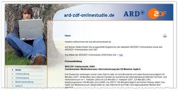ARD/ZDF-Onlinestudie 2008