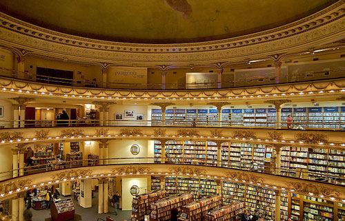 Ateneo - Buchhandlung in Buenos Aires