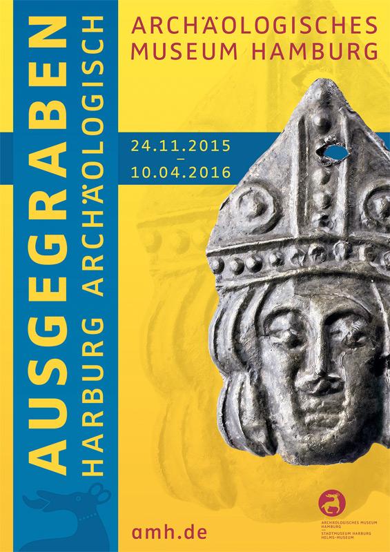 Plakat der Ausstellung 'Ausgegraben'