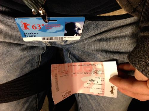 Berlinale 2013 - unterwegs in der Berliner U-Bahn von Film zu Film