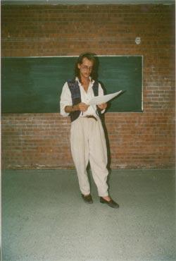 Als Deutschlehrer in Mexiko mit zugegeben mutiger Mode