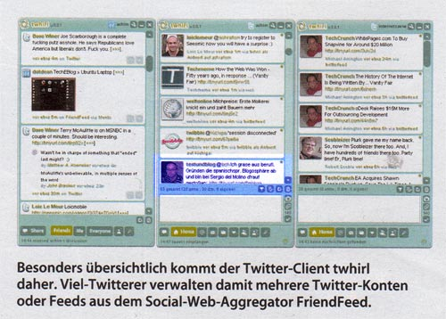 Twitter-Screenshot in c't mit Tweet von textundblog