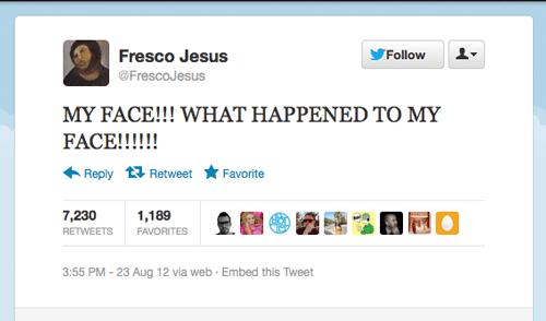 Tweet der Woche von @frescojesus