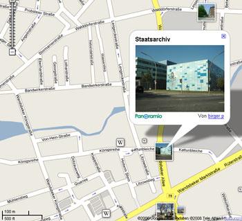 Google Maps jetzt auch mit Wikipedia- und Fotolinks