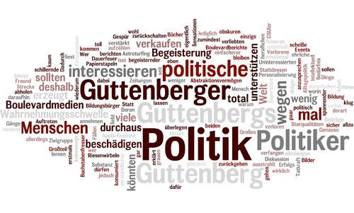 Grafik erzeugt aus Herrn Haekelschweins Kommentar zu den Guttenbergern