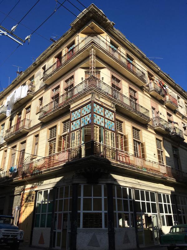 Hausecke in der Altstadt Havannas