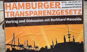 Piraten-Veranstaltung: Das Hamburger Transparenzgesetz – Eine Anleitung