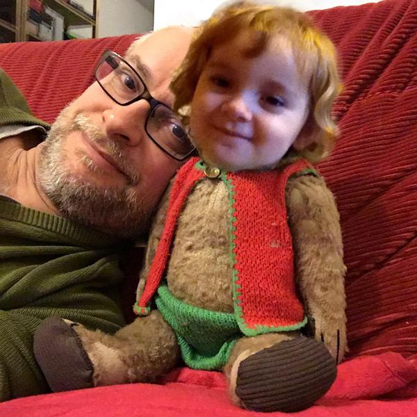 Mit Pixelmator einen lieben kleinen Menschen ins Bild montiert
