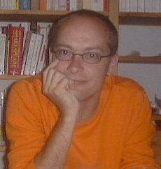 Mein Foto 2002 auf der Website der Uni Saarbrücken