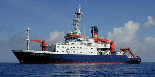 Meteor - Forschungsschiff der Bremer Meeresforscher