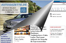 Werbeeinblendung auf netzeitung.de