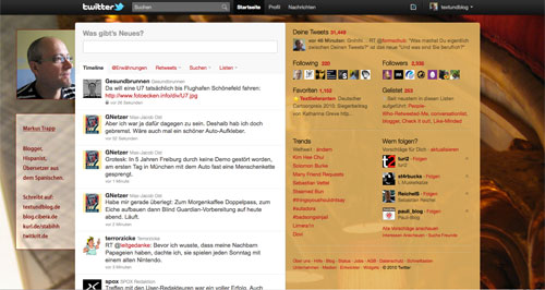 3-spaltiges Newtwitter-Layout