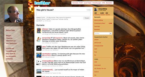 Twitter wie bisher: störende Hinweis auf Newtwitter ist komplett weg!