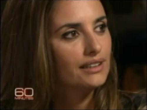 Penélope Cruz im Interview auf 60 Minutes bei CBS