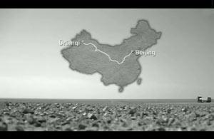 Ausschnitt aus The Longest Way: Beijing - Ürümqi