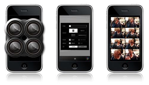 QuadCamera: Software zum Fotografieren mit dem iPhone: 4-8 Aufnahmen in Folge