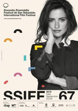 Plakat des Internationalen Filmfestivals San Sebastián 2019