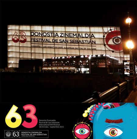 Festivalkino Kursaal 2015 bei Nacht