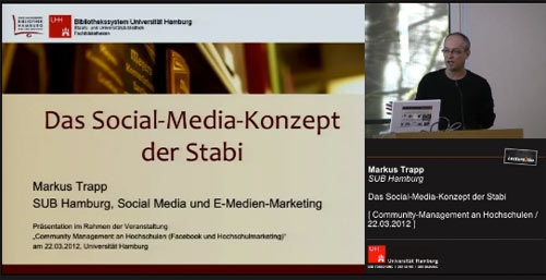 «Das Social-Media-Konzept der Stabi»