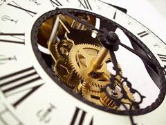Uhrwerk: heute Nacht heißt es wieder: Wer hat an der Uhr gedreht?