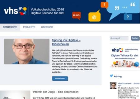 Blog des Deutschen Volkshochschul-Verbandes