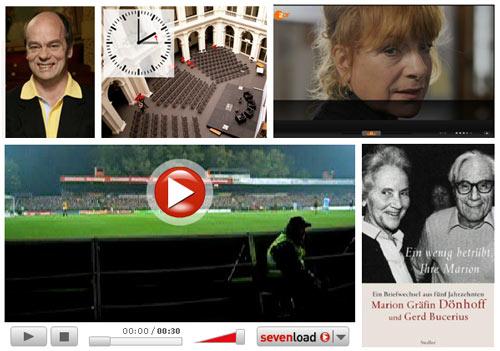 Corny Littmann, Hannelore Hoger, Millerntorstadion, Marion Gräfin Dönhoff, Gerd Bucerius