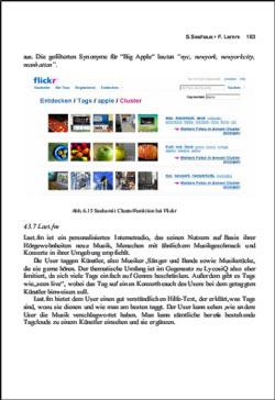 Beispielseite aus dem Web 2.0-Buch von Lewandowski und Maaß