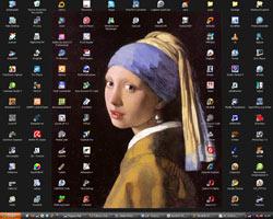 Mein Windows-Desktop mit Zune
