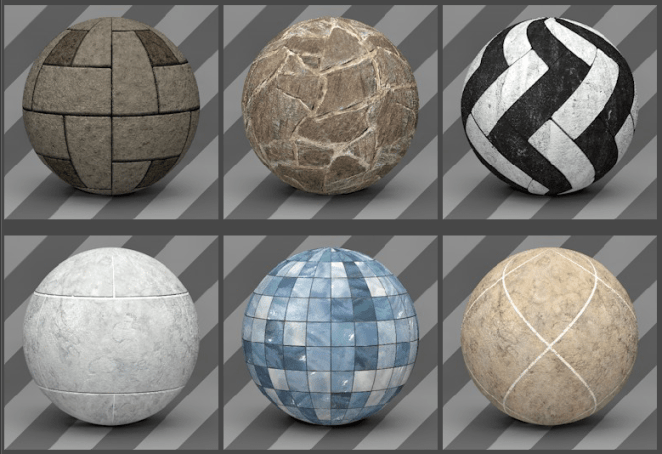 Cinema 4D Floor Textures 01 - Free Cinema 4D Textures